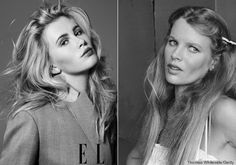 Ireland Baldwin Kim Basinger - Mother and daughter doppelganger models.  FAB gene pool!