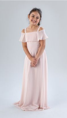 Style your girls in a chiffon junior bridesmaid dress that features a flowy top. Available in colors, shop Kennedy Blue Nica today! Girls Pageant Dresses, Prom Dresses Blue, Flower Girl Dresses, Flower Girls, Party Dresses, Wedding Dresses, Beautiful Bridesmaid Dresses, Junior Bridesmaid Dresses, Chiffon