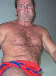 daddies wrestling singlet coming off GLOBALFIGHT DVDs