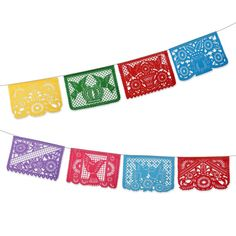 Mexican Fiesta Party Bunting Flags