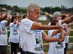 Exercícios físicos para 3ª idade - Clube Escola Vila Guilherme