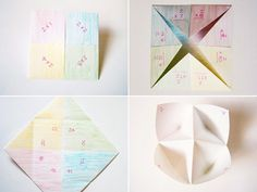 Times Table Fortune Tellers (with printable tally sheets) · Playful Learning Math For Kids, Fun Math, Math Resources, Math Activities, Indoor Activities, Maths Times Tables, Waldorf Math, Waldorf Crafts, 4th Grade Math