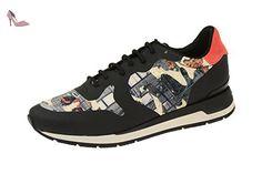 Geox  D64n1b 000l1c9999, Chaussures à lacets et coupe classique femme - noir - Schwarz, - Chaussures geox (*Partner-Link)