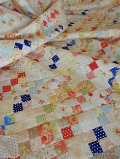 A Quilting Life - a quilt blog: Patchwork Quilt: Go Four It Update