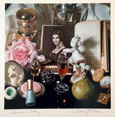 "Audrey Flack - Pop Art Vintage Photograph Dye Transfer Print ""Leonardo's Lady"" Audrey Flack For Sale at Hyperrealism, Photorealism, Color Photography, Life Photography, Bachelor Of Fine Arts, Whitney Museum, Identity Art, Gcse Art, Josef Albers"