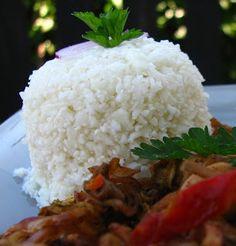 Gitta nyersétel blogja: Fehér rizs: karfiolból