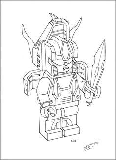 deviantART: novastorm73's Slag Lego Mini Figure Form