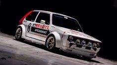 VW Golf Rally Volkswagen Golf Mk1, Vw Mk1, Mk1 Caddy, Golf Mk2, Vw Cars, Rally Car, Twin Turbo, Ford Trucks, Custom Cars