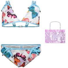 71bfc427d4 This delightful Paté De Sable bikini features a bikini top with a butterfly  print