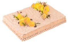 四角一段オレンジポイント(スタンダード・ウェディングケーキ)紅茶風味のスポンジと生クリームにオレンジをサンドしたショートケーキです。 Macaroon Cake, Square Cakes, Macaroons, Wedding Cakes, Tableware, Desserts, Cake Ideas, Weddings, Business