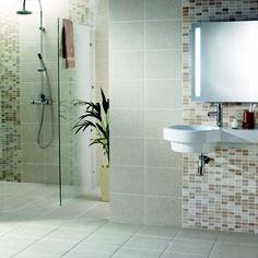 Kitchen Tiles Homebase marble border tiles - cream - 300 x 47mm - 1 pack from homebase.co