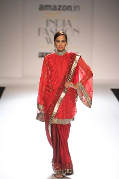 Kiran Uttam Ghosh at Amazon India Fashion Week autumn/winter 2016