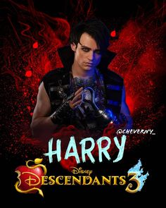 Harry, Son of Captain Hook Longs for a first mate of his own. Descendants Pictures, Descendants Characters, Disney Channel Movies, Disney Channel Descendants, Disney Descendants 3, Descendants Cast, Disney Movies, Cameron Boyce, Harry Hook