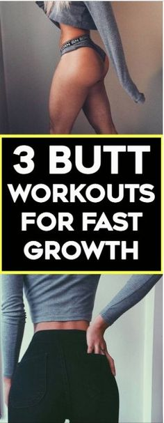 Workouts For Bigger & Rounder Glutes