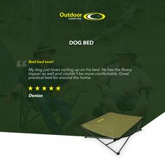 "Best bed ever!  ""My dog just loves curling up on his bed. He has the fleecy topper as well and couldn't be more comfortable. Great practical bed for around the home""  -Denise  Click the link to shop now.  #theoutdoorconnection #campingaustralia #exploreaustralia #weareexplorers #offroad #4x4 #campinggoals #camperlifestyle #campingadventures #stargazing #tent #campsite #campingwithdogs #wander #offthebeatentrack #dogsofinstagram"