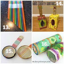 Image result for diy music instruments kids