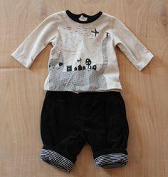 Boys Clothing Sale | Boutique Children's Clothes | European Children's Clothing Sale - Catimini Fall 2012 Baby Boy Spirit City Pants Set