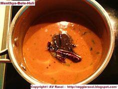 Madhwa Brahmin Cuisine - Menthya-Bele Huli