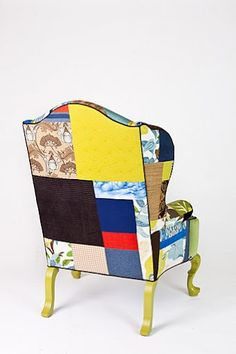 Charmant Designer Modern Furniture Michigan   Patchwork Upholstery