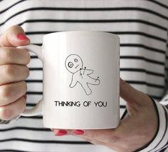 Thinking Of You Voodoo Doll Funny Mug