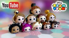 Toutes mes créations Tsum Tsum Youtubers !