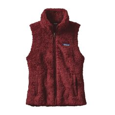The Patagonia Women's Los Gatos Vest is a versatile, extremely soft, deep-pile polyester fleece vest with sleek styling and a feminine, contoured fit.