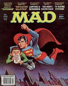 Cover for MAD (EC 1952 serie) #208 6 JULY 1979