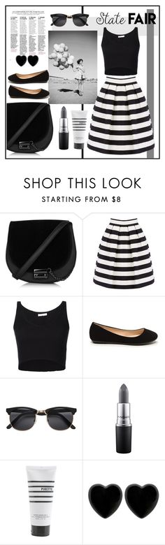 """""""State fair"""" by deathcab4cuul ❤ liked on Polyvore featuring Warehouse, 321, MAC Cosmetics, Pirette, Dollydagger and vintage"""