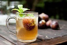 fig and bourbon fizz