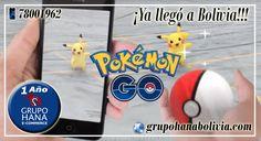 ¡POKEMON GO ya está disponible para Bolivia!!!
