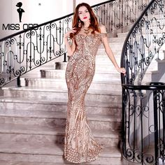 990c7368754 Missord 2017 Sexy Party Dress Gold Sequins