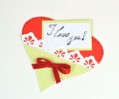 Paper Hearth - Last Minute Gift Cards for Valentine's Day - DIY Crafts