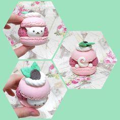 Details ❤ @maqaroon #clay #craft #airdryclay #heartyclay #cat #sweetdeco #sweets #macaroon #craftindonesia #instadaily #instalike