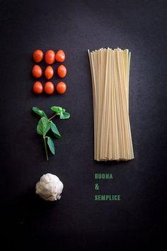 ingredienti per pasta al pomodoro