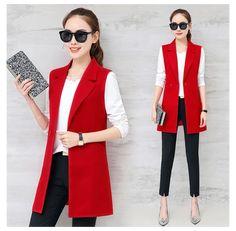 Look Blazer, Blazer Vest, Vest Coat, Blazer Outfits, Casual Blazer, Sleeveless Blazer Outfit, Suit Vest, Blazer Fashion, Puffer Vest