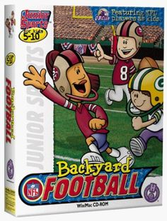 Backyard Football - Featuring NFL Players As Kids!Product InformationGrab your helmet because it's time to team up with the BackyardKids! The roar of the crowd. The cool autumn air. The mud on your jersey. Sports Games, Kids Sports, Mac Games, Making The Team, Team Player, Team Names, Nfl Football, Football Season, A Team