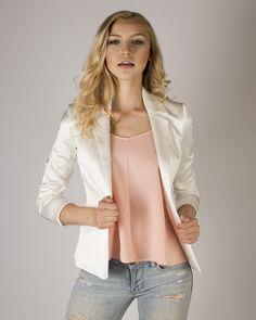 Rosie Tank | MADA Boutique Spring Collection, Blazer, Boutique, Jackets, Women, Fashion, Down Jackets, Moda, Women's