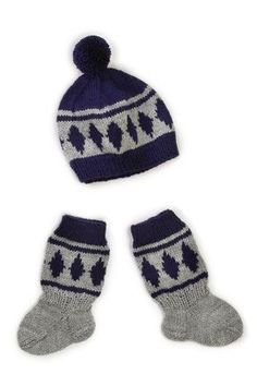 Nordic Yarns and Design since 1928 Baby Clothes Blanket, Baby Cardigan, Boot Cuffs, Baby Booties, Yarn Crafts, Baby Knitting, Knitting Ideas, Clothing Patterns, Knitted Hats