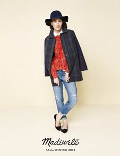 EXCLUSIVE: Madewell's Fall 2013 Lookbook Is a Street Style Photographer's Dream : Lucky Magazine