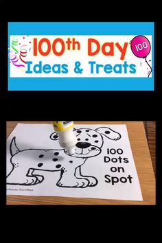 Fun, easy to prep activities and treat ideas for your day of school celebration. 100th Day Of School Crafts, 100 Day Of School Project, Last Day Of School, School Projects, 100s Day, Kindergarten Activities, Fun Activities, Educational Activities, Physical Activities