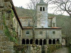 MiGalicia Mosteiro de Santa Cristina de Ribas de Sil no concello de Parada de Sil-Ourense.