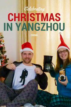 Celebrating Christmas in Yangzhou, China