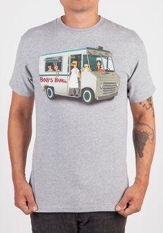 BOB'S BURGERS Food Truck Gang T-Shirt