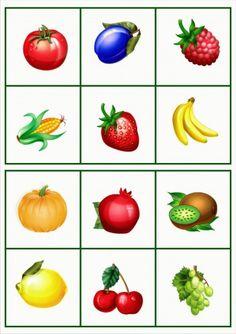 kártyák zöldség