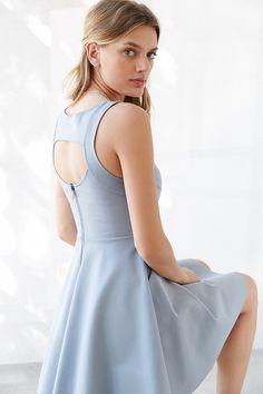 Kimchi Blue Camrin Fit + Flare Dress