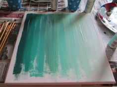 Ombre Art {DIY} | Two Delighted