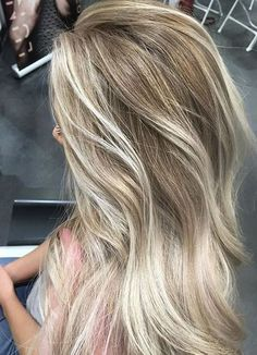 Blonde Hair Color Ideas for Spring 2018 Rooty #haircolorblonde