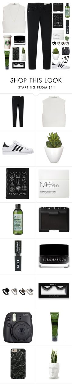 says he loves you, but he aint got time by pure-and-valuable on Polyvore featuring Elizabeth and James, rag & bone, Topshop, ASOS, Aesop, Illamasqua, NARS Cosmetics, The Body Shop, Pomax and Vondom