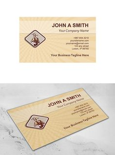 Business Card Template Organic Farme ~ Business Card Templates on Creative Market