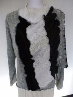 """Kurzjacken - Jackenschal """"CrochetLace"""" - ein Designerstück von AutumnFlowers bei DaWanda"""